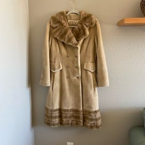 VTG Borgana Fairmoor faux fur coat | Made in USA